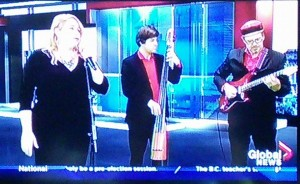 kimberley performs on global news